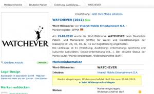 Watchever von Vivendi